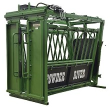 HC2000 Hydraulic Chute with Curtain Style Head Gate