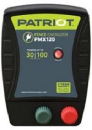 Patriot PMX120 110v Low-impedence Energizer:  2-Year Full Replacement Warranty!