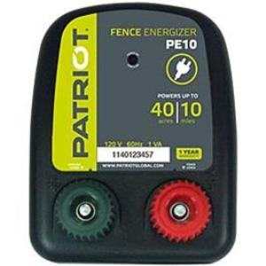 Patriot PE10 - 110v Low-impedence Energizer:  1-Year Full Replacement Warranty!