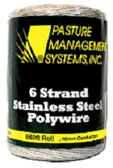 6-strand Stainless Steel Polywire