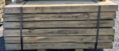 NEW!  5 x 5 x 7ft Southern Yellow Treated Pine Lumber - Rough-Cut