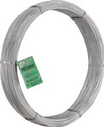5,000ft coil Hi-Tensile Wire:  14ga Class 3 210,000psi minimum